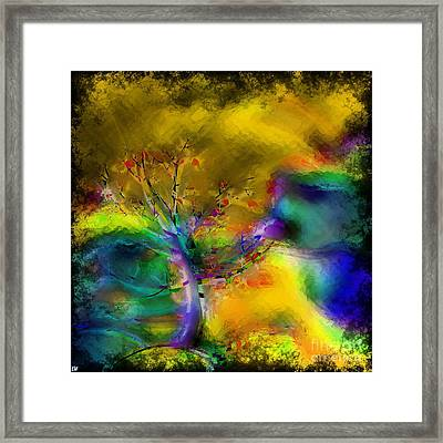 Tree Abstract - Bold Is Beautiful Framed Print by Liane Wright