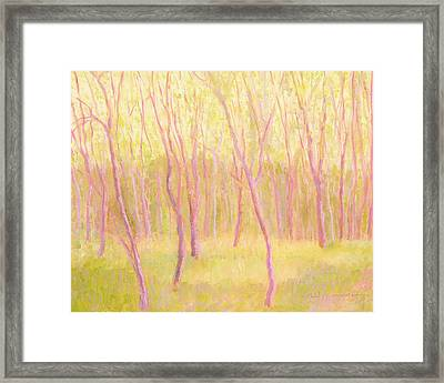 Tree Dance Framed Print
