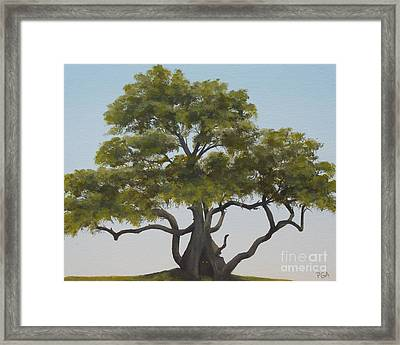 Tree Home I Framed Print