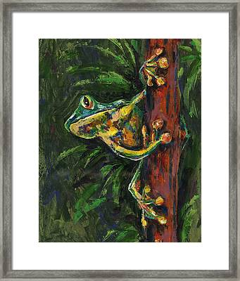Tree Hugger Framed Print by Lovejoy Creations