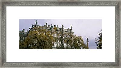 Tree In Front Of A Palace, Winter Framed Print by Panoramic Images