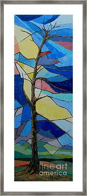 Tree Intensity - Sold Framed Print by Judith Espinoza