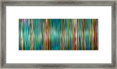Tree Line Framed Print by Az Jackson