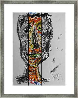 Tree Man 2011 Framed Print