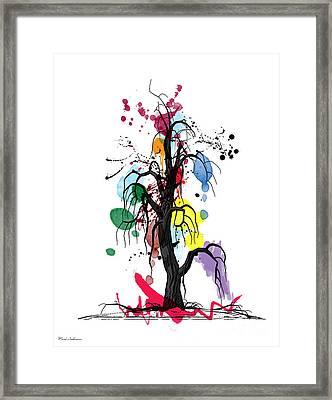 Tree Framed Print by Mark Ashkenazi