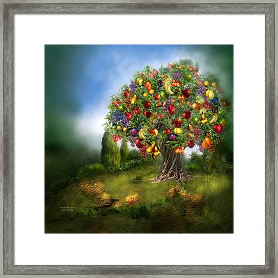Tree Of Abundance Framed Print