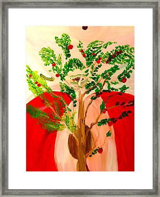 Tree Of Apples Framed Print by Pretchill Smith