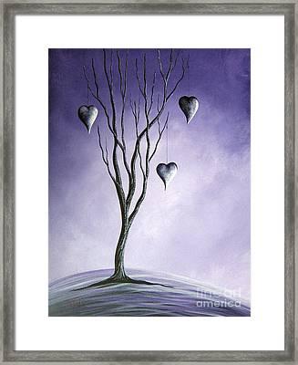 Tree Of Everlasting Promises By Shawna Erback Framed Print