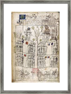 Tree Of Fortune Framed Print by British Library