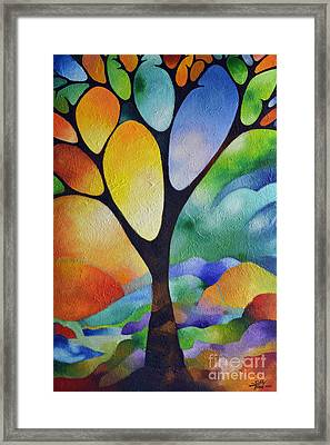 Tree Of Joy Framed Print