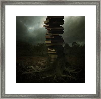 Tree Of Knowledge Framed Print by Fern Evans