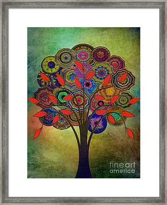Tree Of Life 2. Version Framed Print