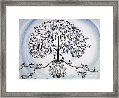 Tree Of Life Framed Print by Anjali Vaidya