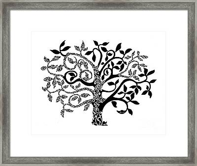 Tree Of Life Framed Print by Anushree Santhosh