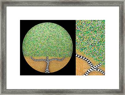 Tree Of Life Framed Print by Grass Hopper