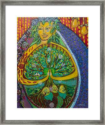 Tree Of Life Framed Print by Havi Mandell