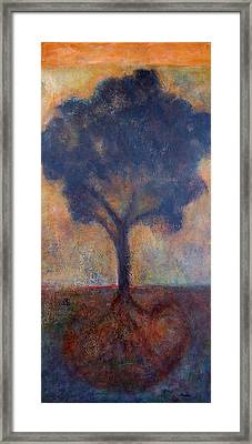 Tree Of Life Framed Print by Jean Rodak