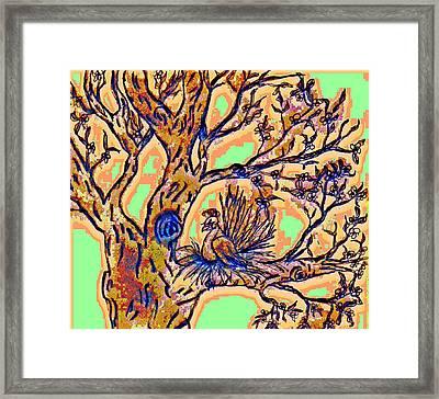 Tree Of Life Framed Print by Rebecca Flaig