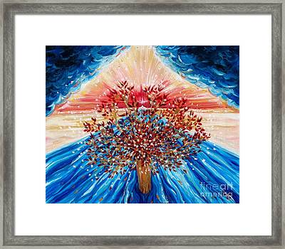 Tree Of Life Framed Print by Suzanne King