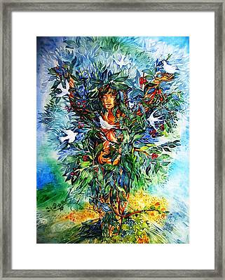 Tree Of Life  Framed Print by Trudi Doyle