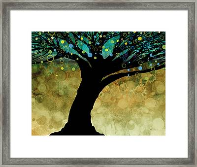 Tree Of Life Two  Framed Print by Ann Powell