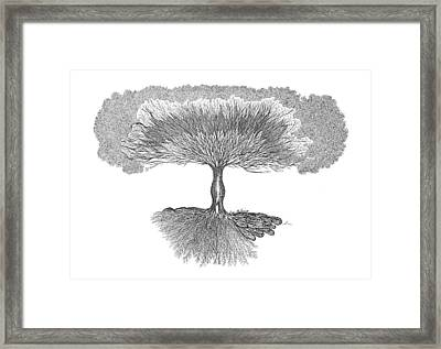 Tree Of Living Framed Print