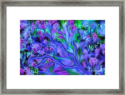 Tree Of Peace And Serenity Framed Print