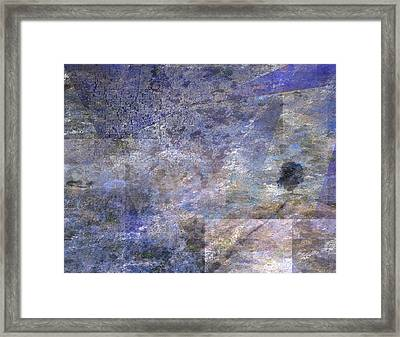 Framed Print featuring the digital art Tree On Road by Bruce Rolff