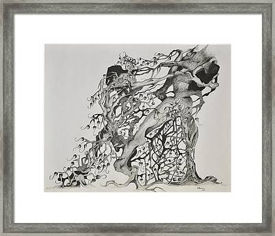 Tree People Framed Print by Glenn Calloway