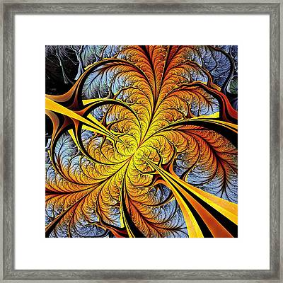 Tree Perspective Framed Print