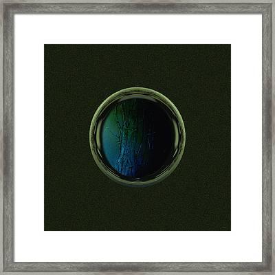 Tree Porthole  Framed Print