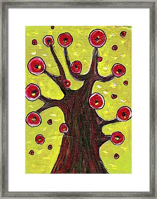Tree Sentry Framed Print by Anastasiya Malakhova