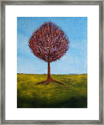 Tree Solo Framed Print