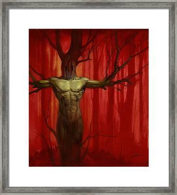 Tree Spirit Framed Print by Alan Lathwell