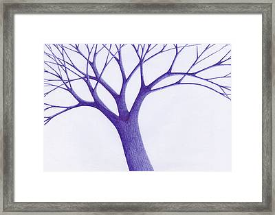 Tree - The Great Hand Of Nature Framed Print by Giuseppe Epifani