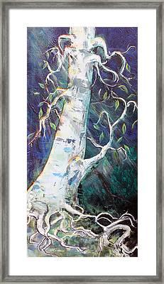 Tree Framed Print by Valerie Wolf