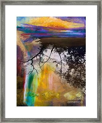 Above And Below Framed Print by Stella Levi