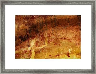 Treeline Framed Print by Victoria Fischer