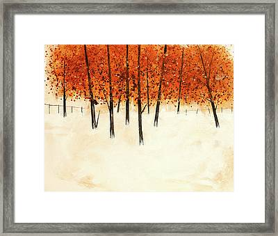 Trees 14 Framed Print by Stuart Roy
