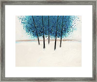 Trees 15 Framed Print by Stuart Roy
