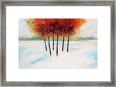 Trees 3 Framed Print by Stuart Roy