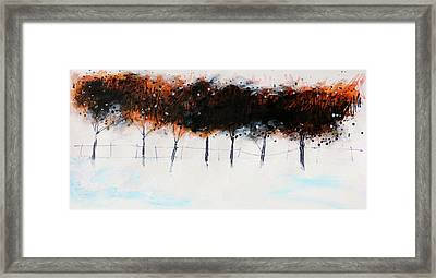 Trees 4 Framed Print by Stuart Roy