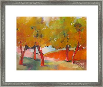 Trees #5 Framed Print by Michelle Abrams