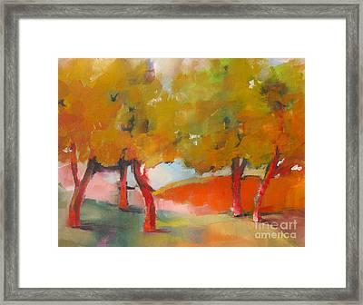 Trees #5 Framed Print
