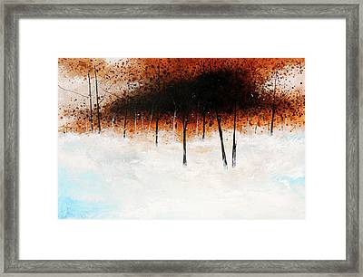 Trees 5 Framed Print by Stuart Roy