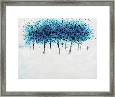 Trees 7 Framed Print by Stuart Roy