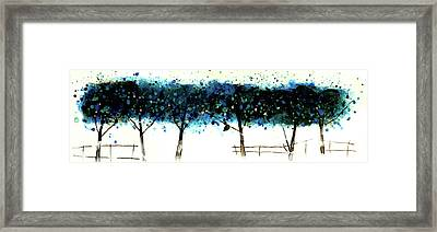 Trees 9 Framed Print by Stuart Roy