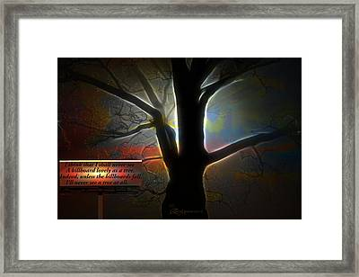 Trees - Featured In 'comfortable Art' Group Framed Print by EricaMaxine  Price