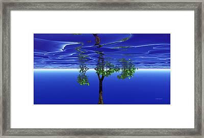 Trees In Heaven Framed Print by Wayne Bonney