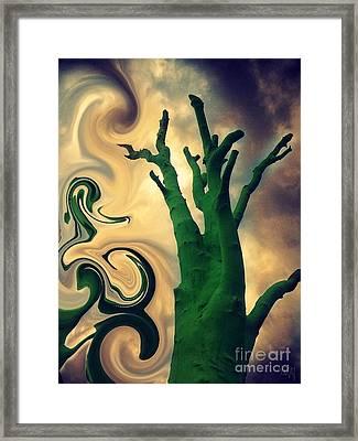 Treeswirl Framed Print
